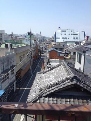 ポプラ屋上からの眺め